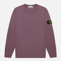 Мужская толстовка Stone Island Crew Neck Cotton Fleece Magenta