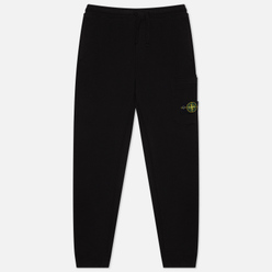 Мужские брюки Stone Island Cargo Cotton Fleece Slim Fit Black