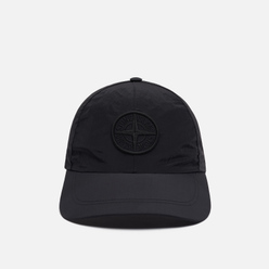 Кепка Stone Island Nylon Metal Embroidered Logo Black
