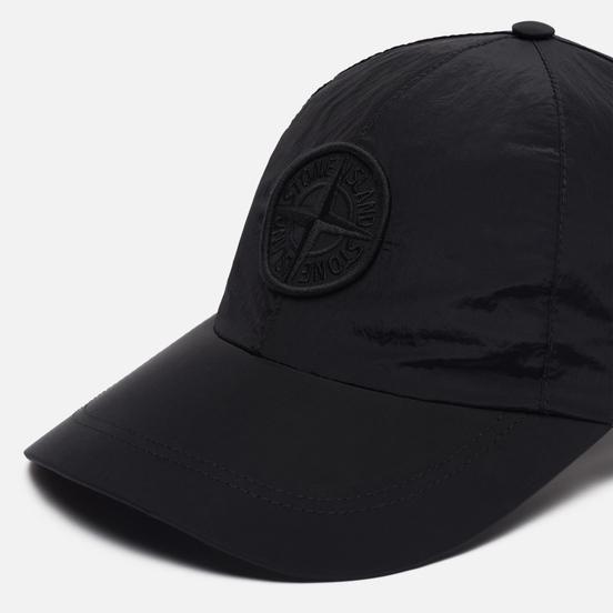 Кепка Stone Island Nylon Metal Embroidered Logo Black