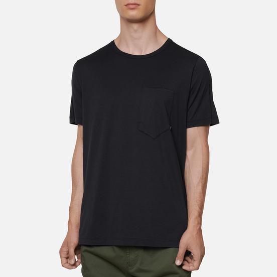 Мужская футболка Stone Island Shadow Project 7319 CXADO Print Back Black