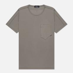 Мужская футболка Stone Island Shadow Project 7319 CXADO Print Back Grey