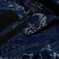 Мужская куртка Stone Island Shadow Project Corrosion Print Cord 3L Indigo фото - 1