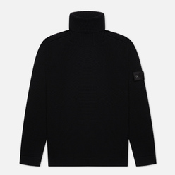 Мужской свитер Stone Island Shadow Project Lana Wool Roll Neck Black