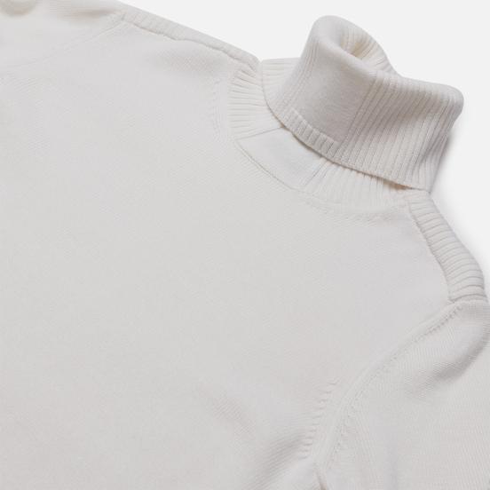 Мужской свитер Stone Island Shadow Project Lana Wool Roll Neck Natural White