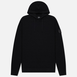 Мужской свитер Stone Island Shadow Project Lana Wool Popover Hoodie Black