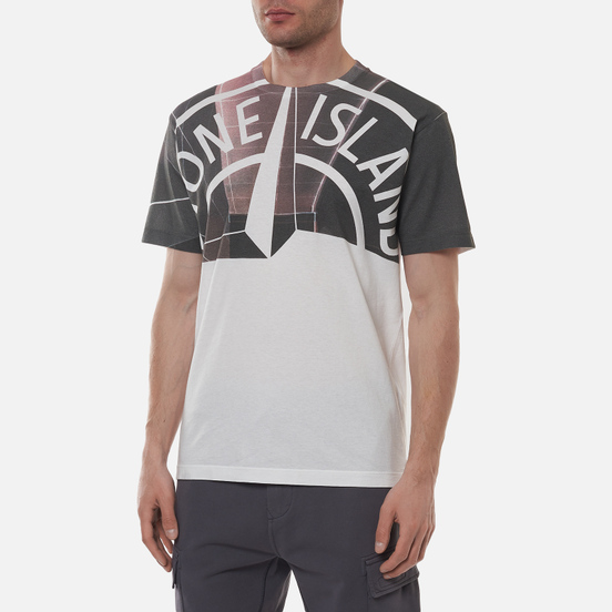 Мужская футболка Stone Island Urban 1 White