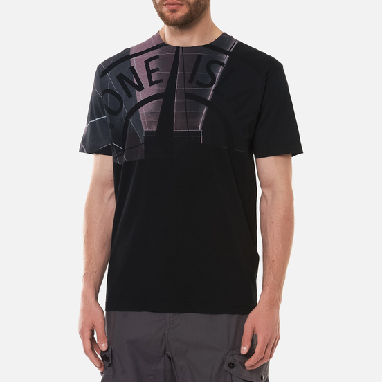Мужская футболка Stone Island Urban 1 Black