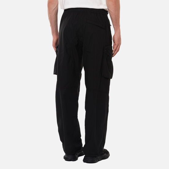 Мужские брюки Stone Island Cargo Light Stretch Cotton Tela Black