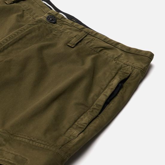 Мужские брюки Stone Island Stretch Broken Twill Garment Dyed OLD Olive Green