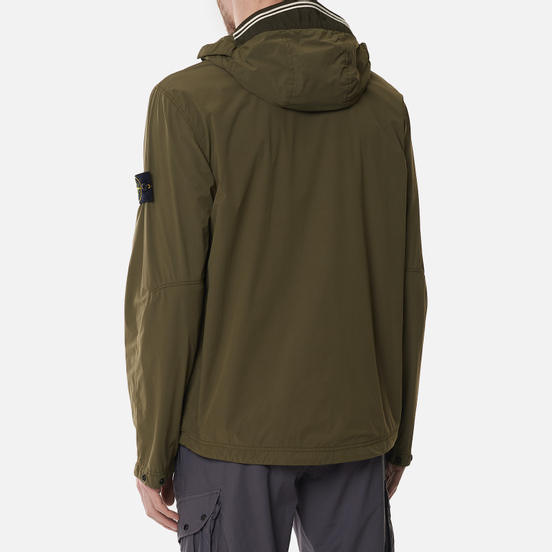 Мужская куртка Stone Island Skin Touch Nylon-TC Olive Green