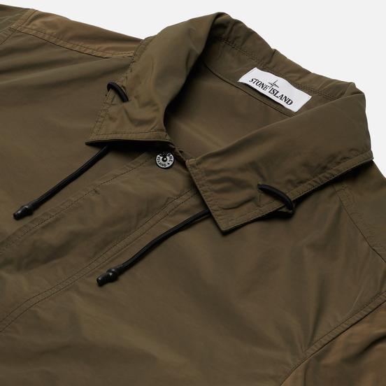 Мужская куртка Stone Island Micro Reps Olive Green