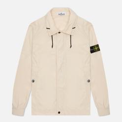 Мужская куртка Stone Island Micro Reps Ivory