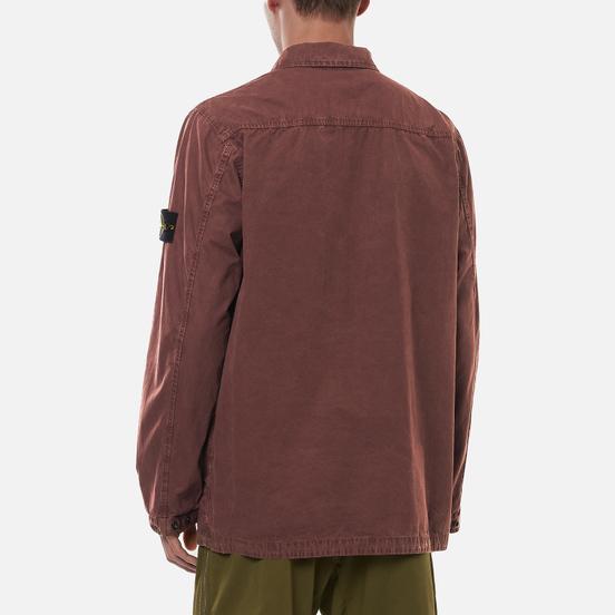 Мужская куртка Stone Island Brushed Cotton Canvas OLD Must