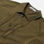 Мужская куртка Stone Island Brushed Cotton Canvas OLD Olive Green фото - 1