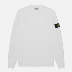 Мужской свитер Stone Island Crew Neck Light Raw Cotton White