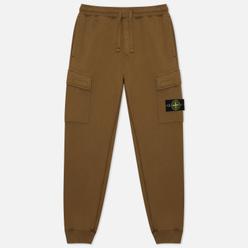 Мужские брюки Stone Island Cargo Cotton Fleece Regular Fit Olive Green
