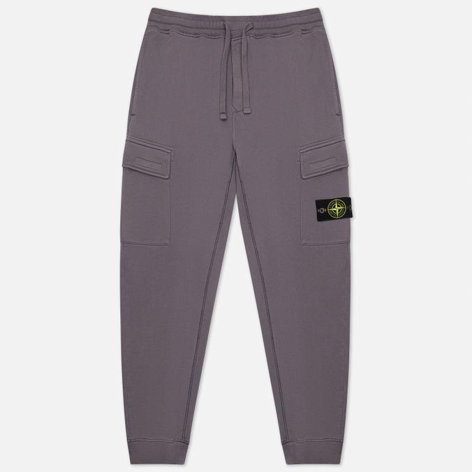 Фото - Мужские брюки Stone Island Cargo Cotton Fleece Regular Fit спортивные брюки stone island размер 8 128 голубой