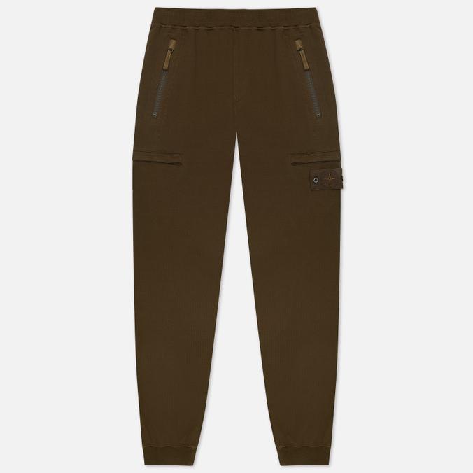Фото - Мужские брюки Stone Island Ghost Piece Cotton Stretch Fleece спортивные брюки stone island размер 8 128 голубой