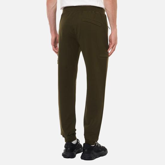 Мужские брюки Stone Island Ghost Piece Cotton Stretch Fleece Military Green