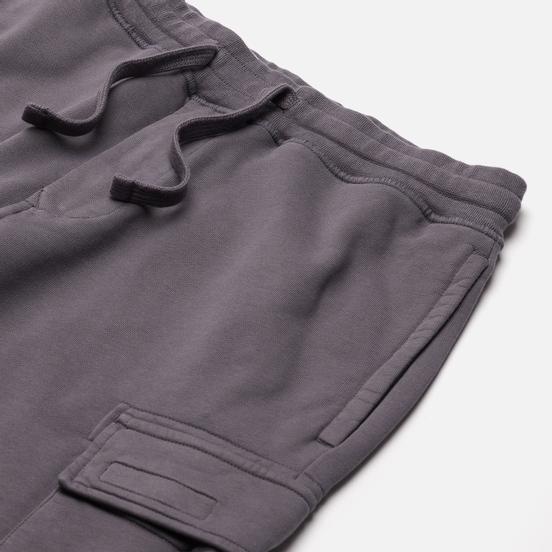 Мужские шорты Stone Island Cargo Bermuda Fleece Regular Fit Pewter Grey