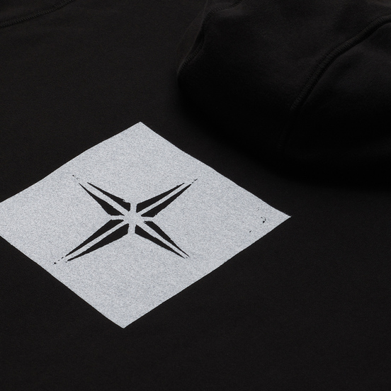 Мужская толстовка Stone Island Stencil Print Black
