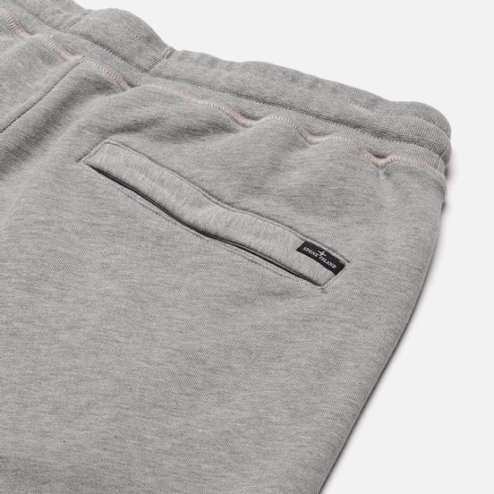 Мужские шорты Stone Island Block Bermuda Cotton Fleece Dust Melange