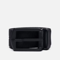 Ремень Stone Island Nylon Tape/Leather 7415 Black