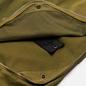 Мужские брюки Stone Island Shadow Project Vent Panel Black Weaved Cotton Satin Olive Green фото - 2