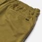 Мужские брюки Stone Island Shadow Project Vent Panel Black Weaved Cotton Satin Olive Green фото - 3
