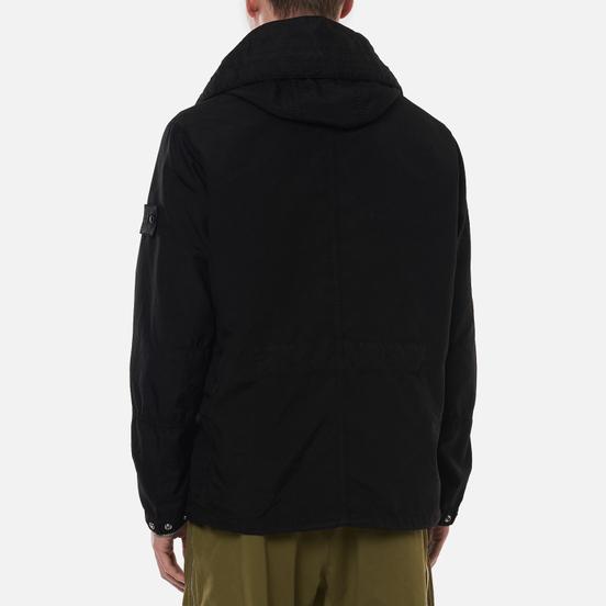 Мужская куртка Stone Island Shadow Project Vented Field Hollowcore Popy Light Black