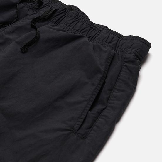 Мужские шорты Stone Island Shadow Project Embroidered Swim Trunks Brushed Nylon Black