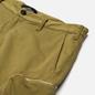 Мужские шорты Stone Island Shadow Project Cargo Black Weaved Cotton Satin Olive Green фото - 1