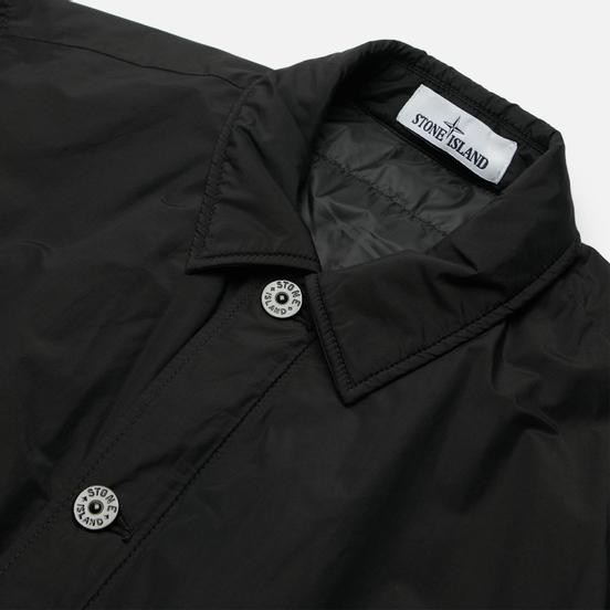 Мужская куртка Stone Island O-Cotton/R-Nylon Tela Primaloft Insulation Technology Overshirt Black