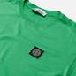 Мужская футболка Stone Island Small Logo Patch Green фото - 1
