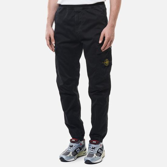 Мужские брюки Stone Island Cargo Straight Leg Regular Fit Black