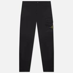 Мужские брюки Stone Island Stretch Cotton Gabardine Slim Fit Black