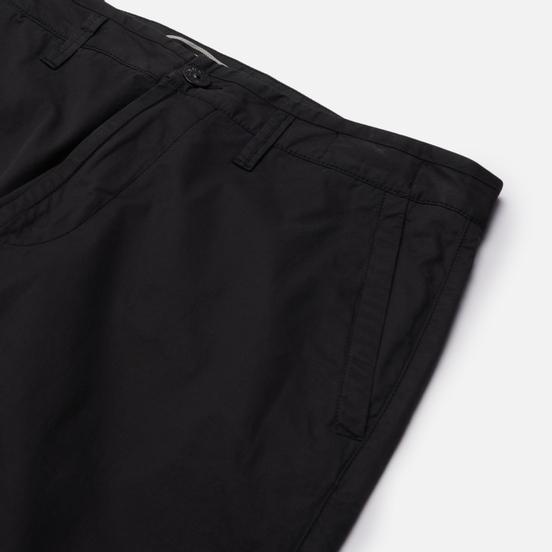Мужские брюки Stone Island Stretch Gabardine Regular Chino Black