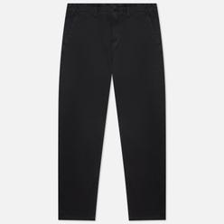 Мужские брюки Stone Island Stretch Broken Twill Cotton Old Effect Regular Fit Black