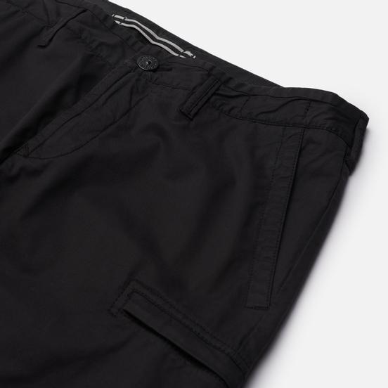 Мужские брюки Stone Island Stretch Cotton Gabardine Cargo Slim Fit Black