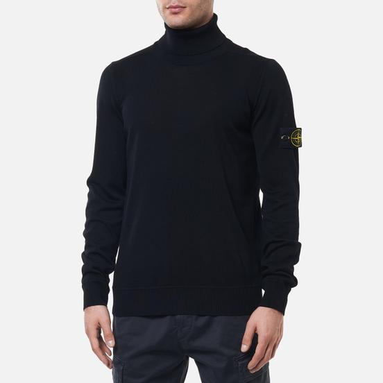Мужской свитер Stone Island Light Pure Wool Black
