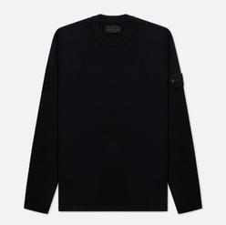 Мужской свитер Stone Island Ghost Piece Wool Crew Neck Black
