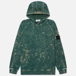 Мужская толстовка Stone Island Cotton Fleece Off-Dye OVD Treatment Hoodie Sage Green