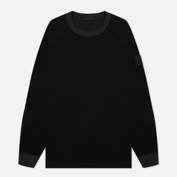 Мужская толстовка Stone Island Ghost Piece Nylon/Cotton Black
