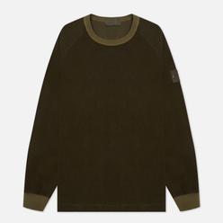 Мужская толстовка Stone Island Ghost Piece Nylon/Cotton Military Green