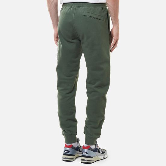 Мужские брюки Stone Island Brushed Cotton Fleece Slim Fit Sage Green