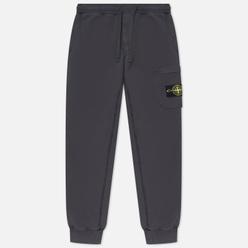 Мужские брюки Stone Island Brushed Cotton Fleece Slim Fit Antracite
