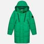 Мужской пуховик Stone Island Garment Dyed Crinkle Reps NY Down-TC Green фото - 0