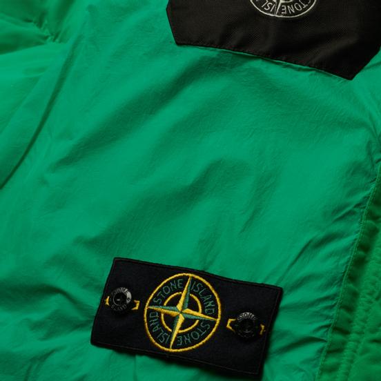 Мужской пуховик Stone Island Garment Dyed Crinkle Reps NY Down-TC Green