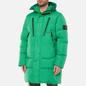 Мужской пуховик Stone Island Garment Dyed Crinkle Reps NY Down-TC Green фото - 5
